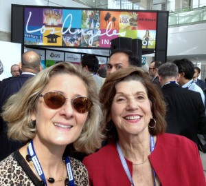 Lou Ann Hammond(Driving the Nation) & Barbara Pomerance at Connected Car Critical Dialogue.