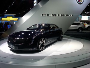 Cadillac's Elmiraj concept is long, sleek and powerful.