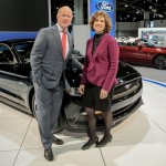 William Collins, Ford Communications, Eastern U.S. and Barbara Pomerance, president & CEO, Pomerance & Associates.