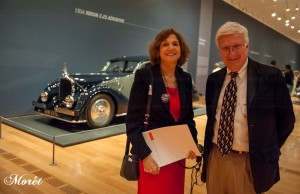 Barbara Pomerance and Ken Gross, Ken Gross, guest curator and museum consultant. Photo by Bonnie M. Moret.