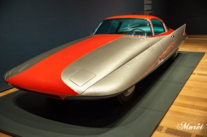 "1955 Chrysler (Ghia) Streamline X ""Gilda."" Photo by Bonnie M. Moret."