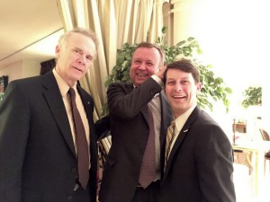 Gerry Murphy vice president Washington Area New Automobile Dealers Association, Patrick Blain, president, OICA, John O'Donnell, president and CEO Washington Area New Automobile Dealers Association.