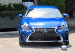 The 2015 Lexux RC F.