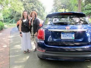 Barbara Pomerance, Pomerance & Associates with Kimberly Shults of Fiat.