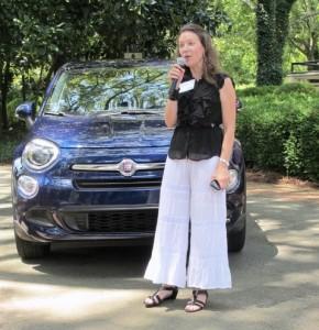 Kimberly Shults,  South Region Communications Fiat Chrysler Automobiles.