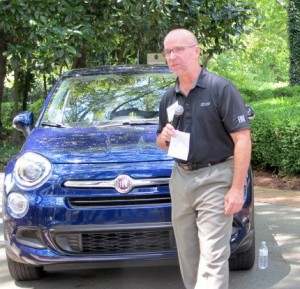 Vern Bremmer explained the design, technology and safety features of the 2016 Fiat 500X.