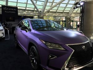 The power of purple - Lexus modified.