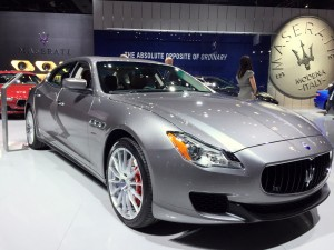 Maserati Quattroporte is all the Italian we need to know.