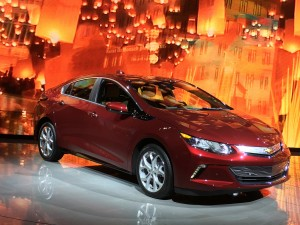 2016 new generation Volt by Chevrolet.