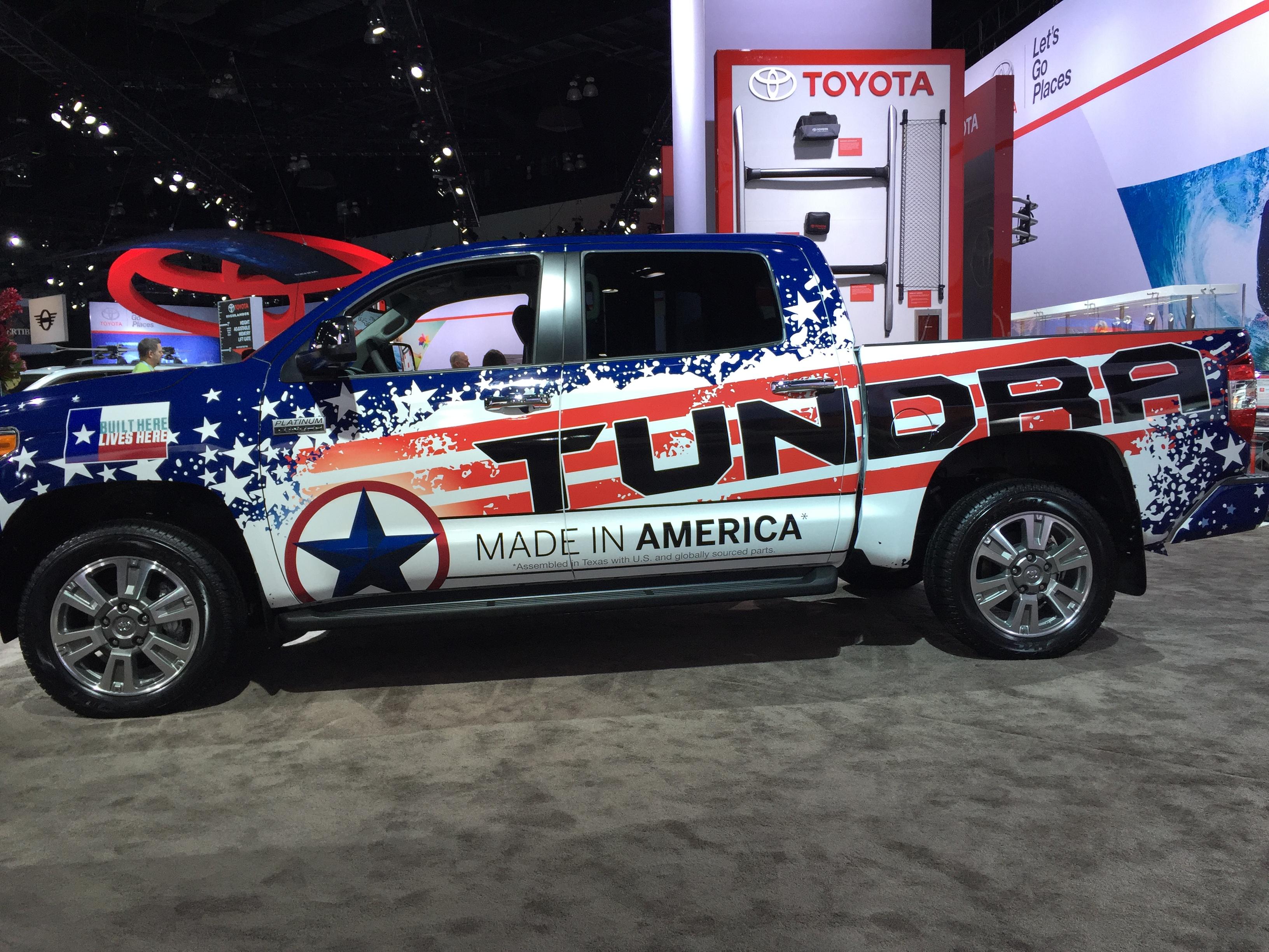 Made in America Tundra « Pomerance and Associates