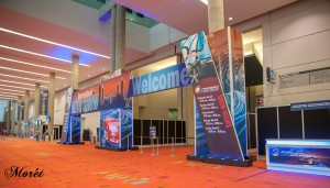 The grand entrance to the 2016 Atlanta International Auto Show.