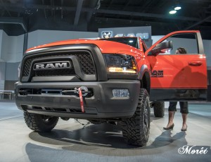 The 2017 Ram Power Wagon sports a front end winch.