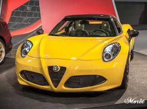 The 2017 Alfa Romeo 4C Spider.