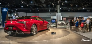 "The Lexus LC 500 Luxury Coupe ""wows"" the media."