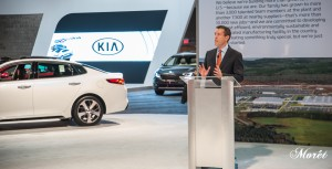 Michael Sprague, Chief Operating Officer, Kia Motors North America.