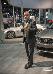 Steve Parrett, Manager, Southeast and South Central Region Communications, Nissan.