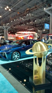 Toyota Mirai FCV named 2016 World Green Car