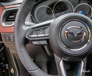 The interior of All-New Mazda CX-9.