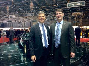 Vince Sheehy of Nissan and John O'Donnell, CEO of The Washington Area New Automobile Dealers Association